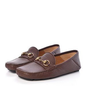 Gucci Calfskin Hebron Horsebit Loafer Maccasins